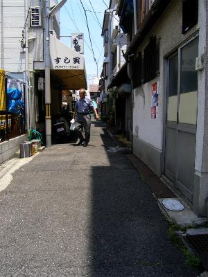 阪堺電車 我孫子道駅周辺