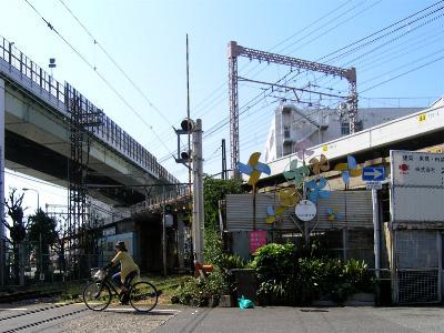 阪堺電車 汐見橋駅周辺